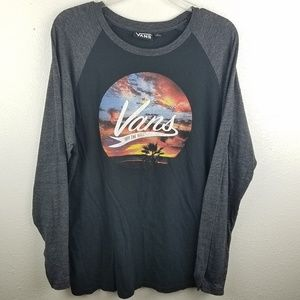 VANS Off The Wall Long Sleeve Graphic T-shirt